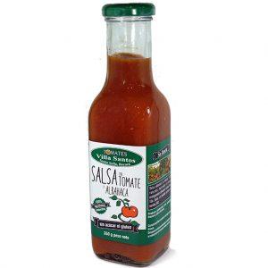 Salsa de Tomate Organica con Albahaca